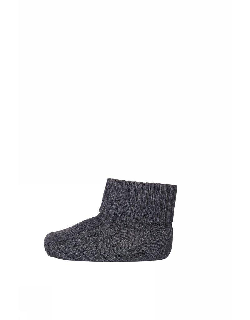 mp Denmark Cotton Rib Socks Grey 497