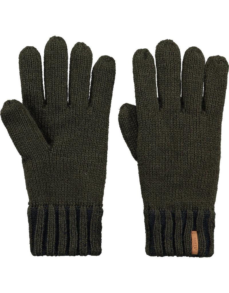 Barts Brighton Gloves Kids army size 3 (4-6 jaar)