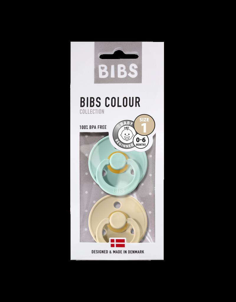 Bibs Speen Blister mint/beige T1