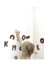 vanPauline Bath Letters Pink