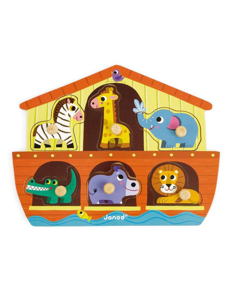 Janod Knoppuzzel - De ark van Noach