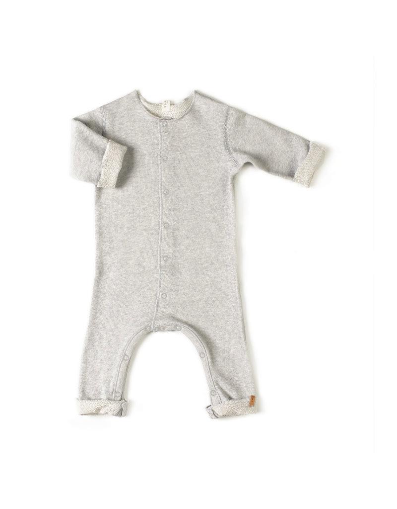 Nixnut Born Onesie - Grey