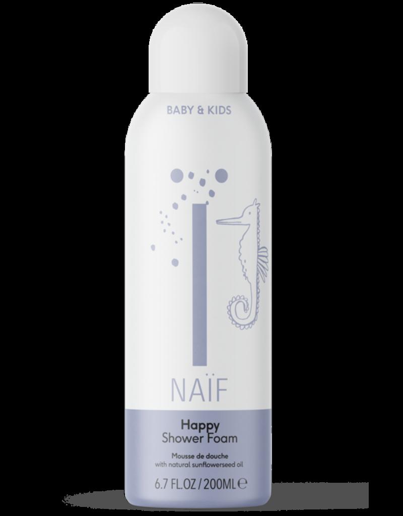 Naïf Shower Foam Happy Baby & Kids