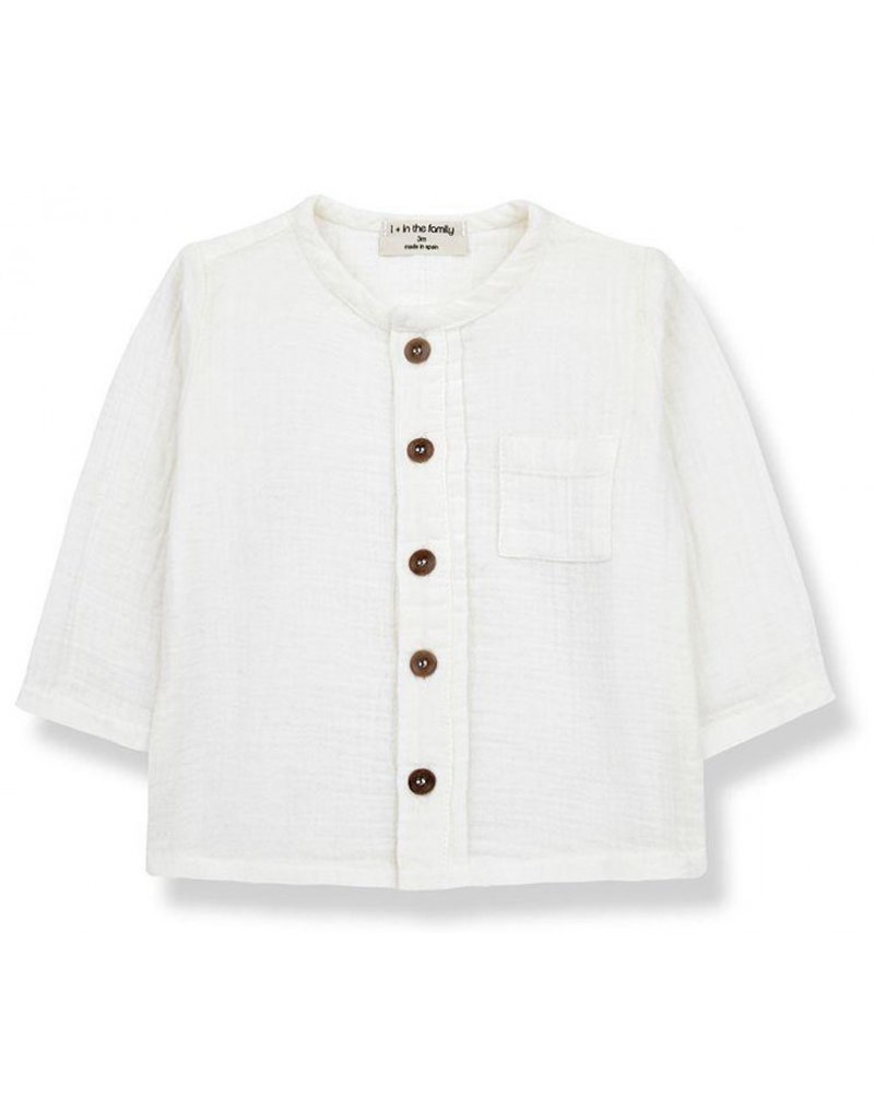 1+ in the family Custo shirt  off-white