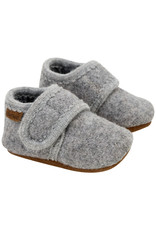 En Fant Wool Slippers Grey Melange