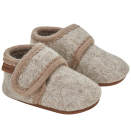 En Fant Wool Slippers Sand Melange