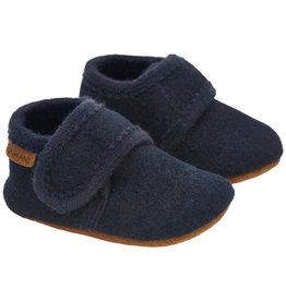 En Fant Wool Slippers Navy