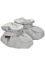 En Fant Baby Slippers Grey Melange