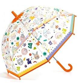 Djeco Paraplu Magische Kleuren - Gezichten