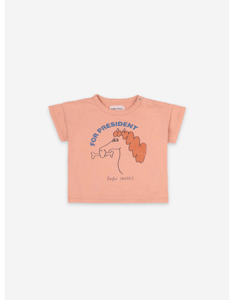 Bobo Choses Fetching Horse Short Sleeve T-shirt