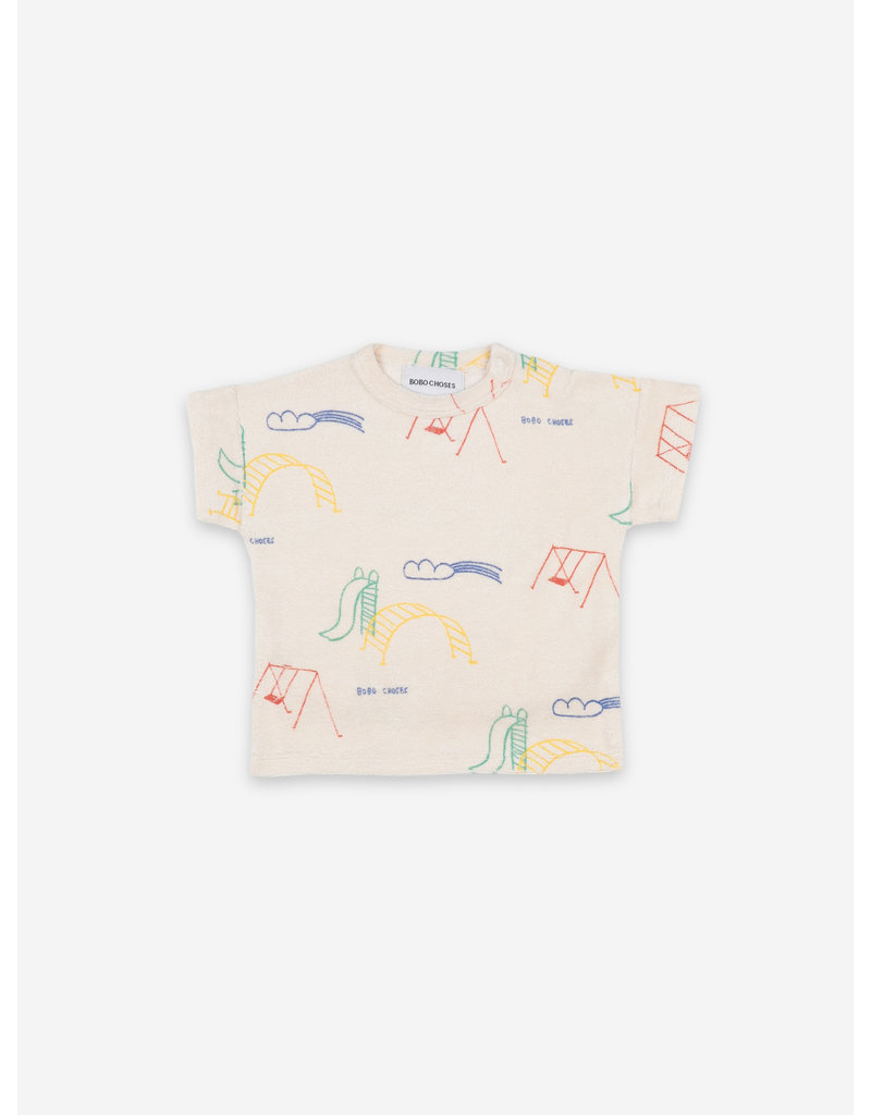 Bobo Choses Playground All Over Short Sleeve T-shirt