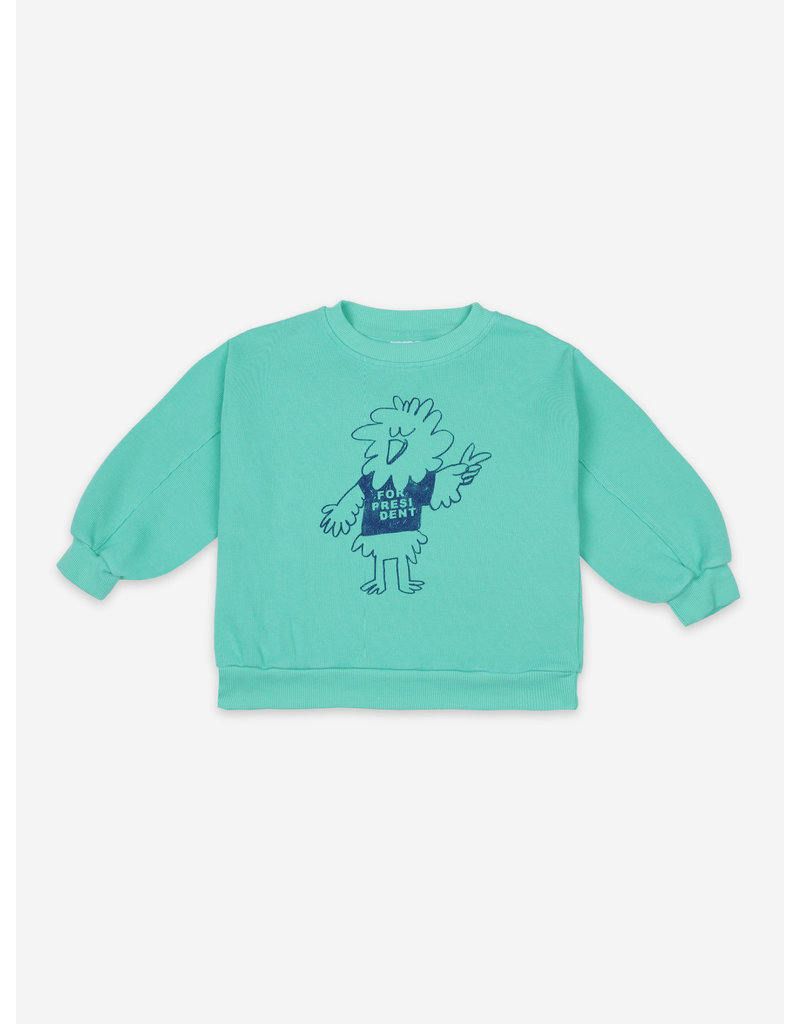 Bobo Choses Bird Says Yes Sweatshirt