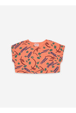 Bobo Choses Strokes All Over Cropped Sweatshirt