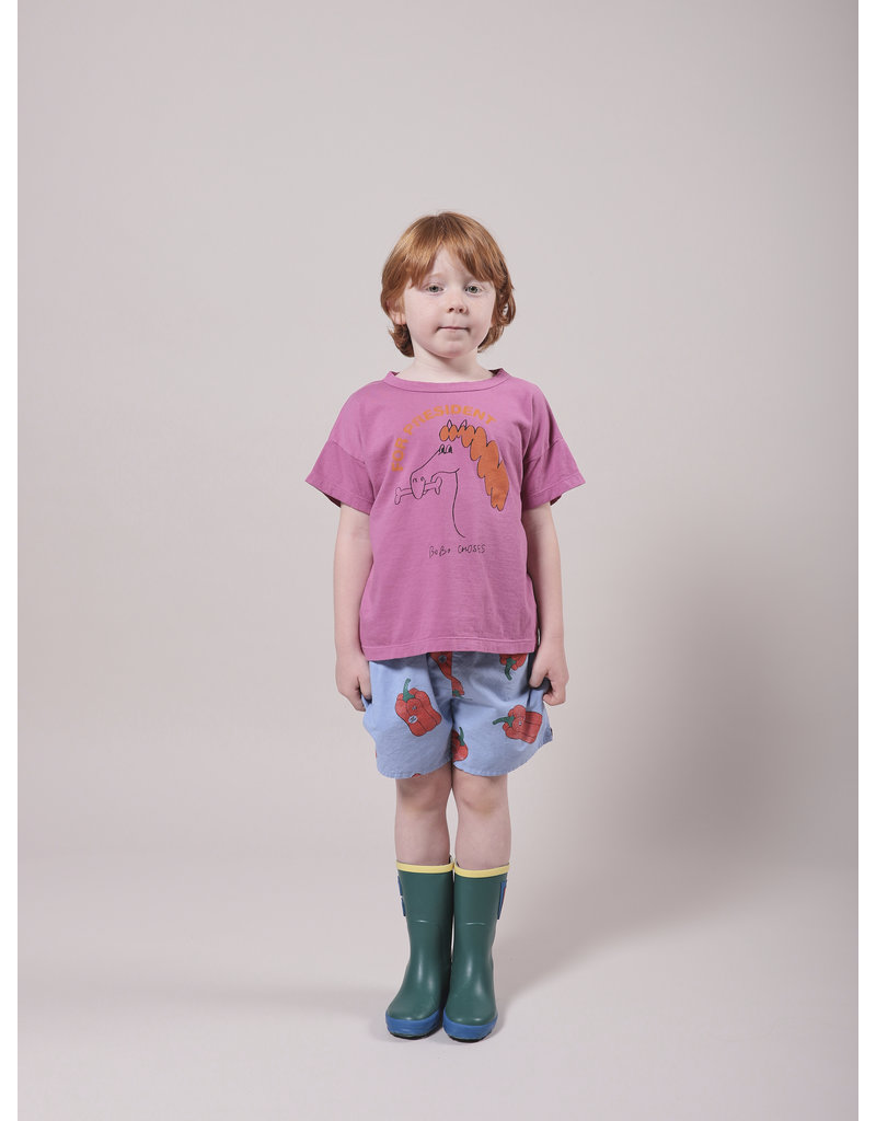 Bobo Choses Fetching Horse Short Sleeve T-Shirt