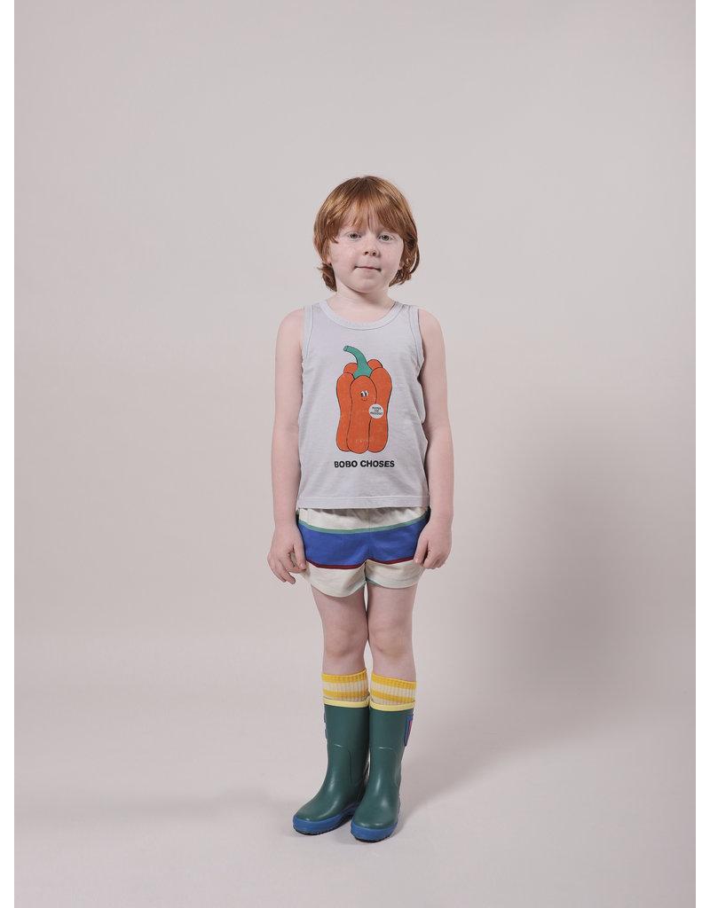 Bobo Choses Stripes Jersey Shorts