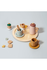 Petit Monkey Wooden tea set