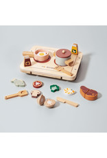 Petit Monkey Wooden diner play set