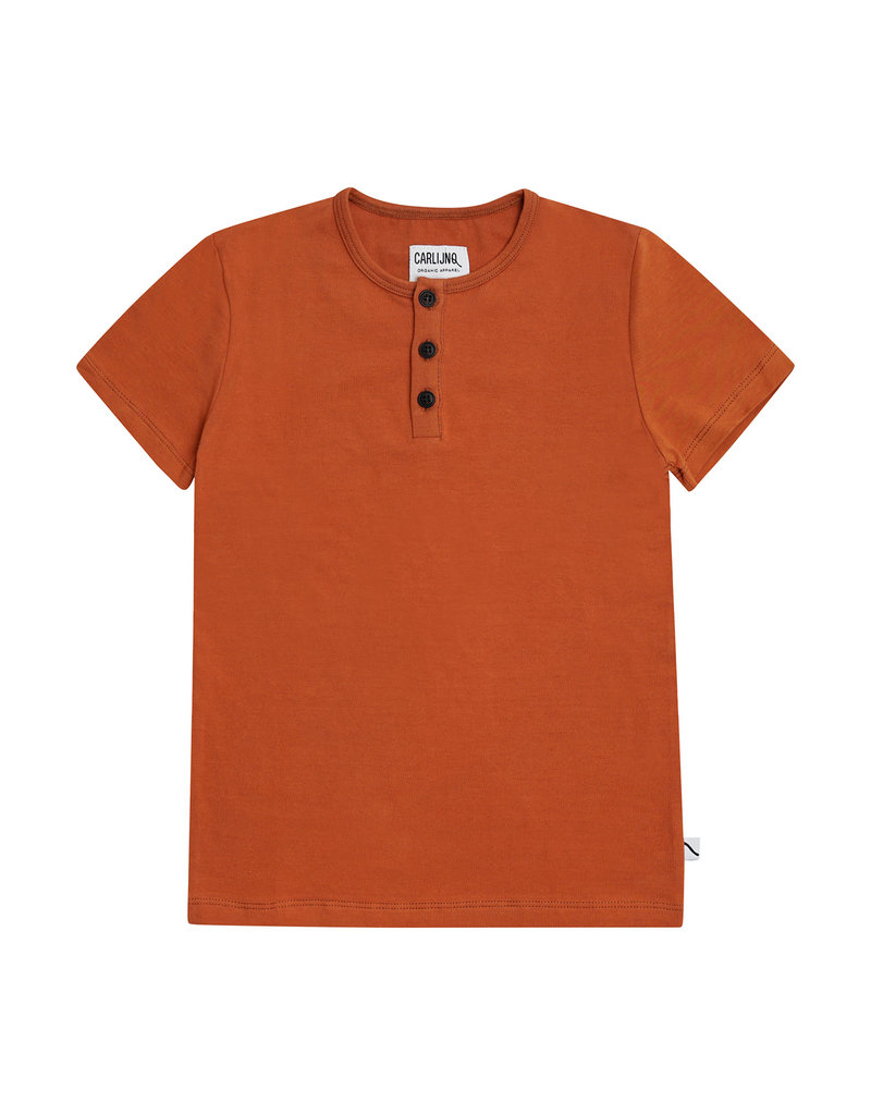CarlijnQ Basics  henley short sleeves
