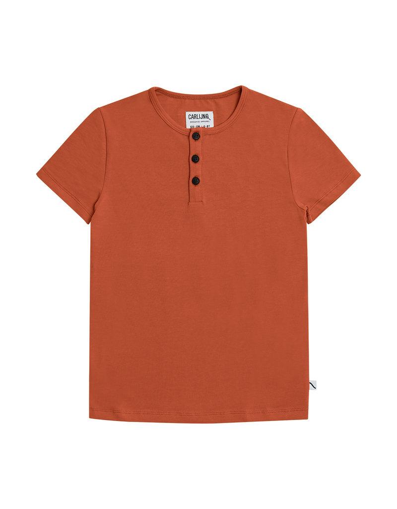 CarlijnQ Basics henley short sleeves