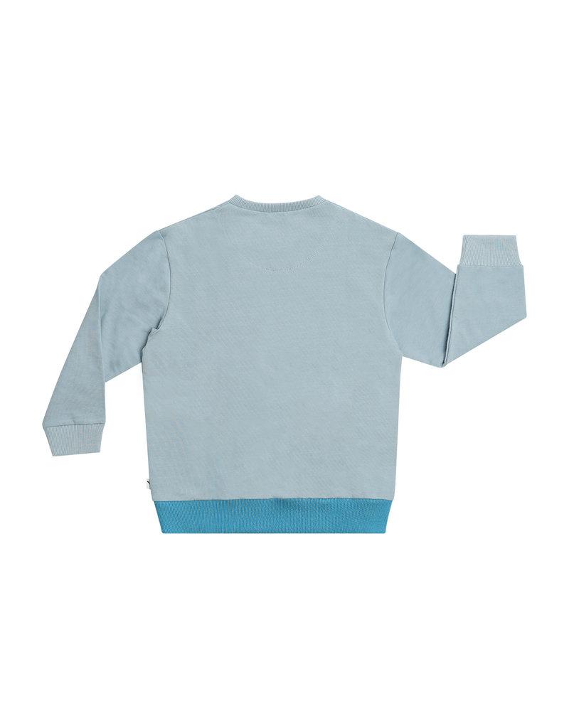 CarlijnQ Basics - Color block sweater