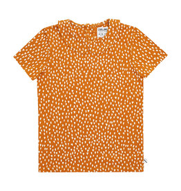CarlijnQ Golden Sparkles - t-shirt collar