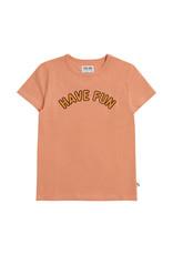 CarlijnQ Have fun - t-shirt with print pink