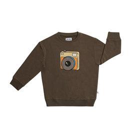 CarlijnQ Photo Camera - sweater with print 74-80