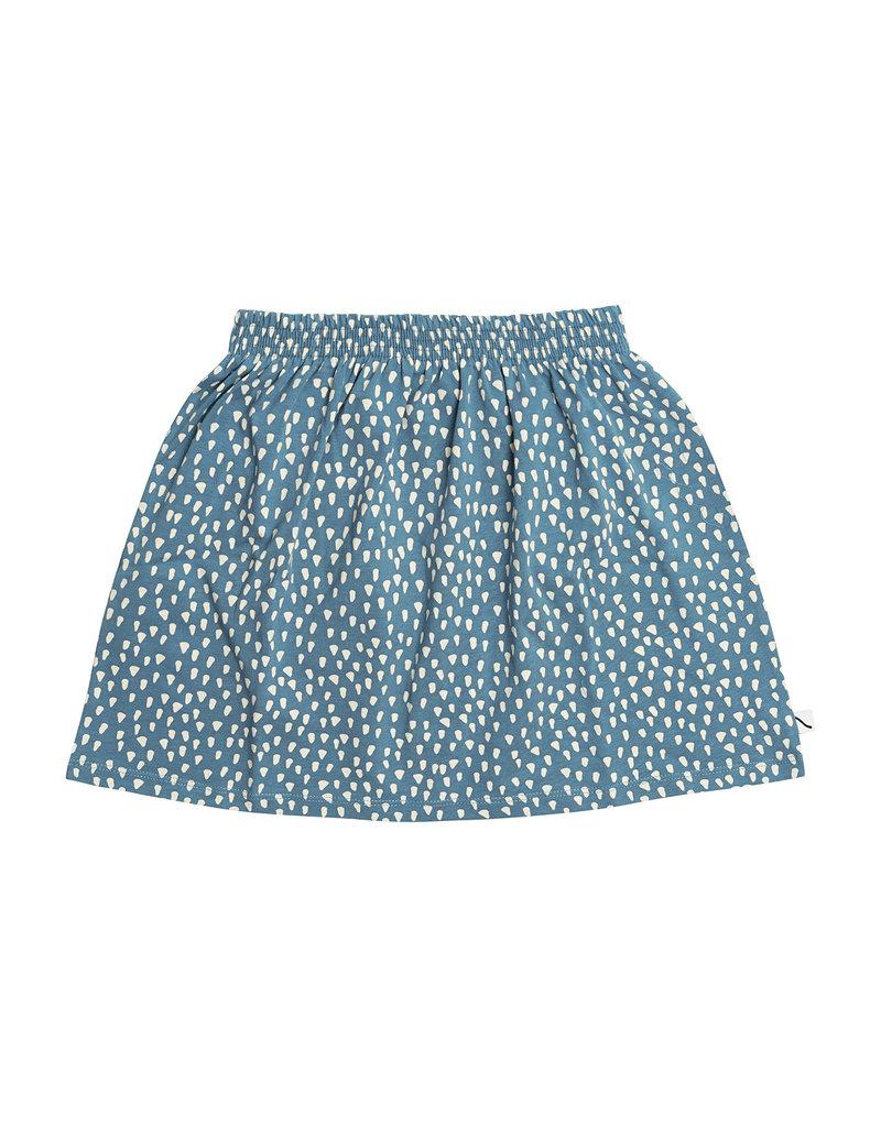 CarlijnQ Petrol Sparkles - skirt, 74/80