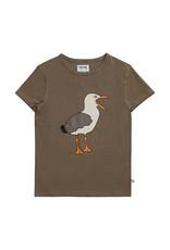 CarlijnQ Seagull - t-shirt with print 74-80