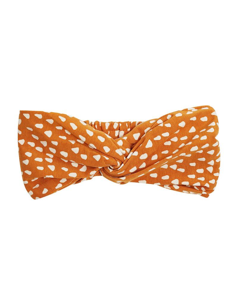 CarlijnQ Golden Sparkles - twisted headband 52cm