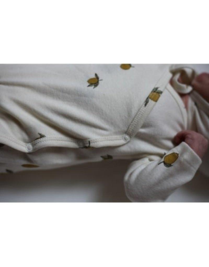 Konges Sløjd Newborn Onesie Lemon