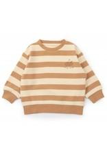 Konges Sløjd Lou Sweatshirt Striped Bisquit