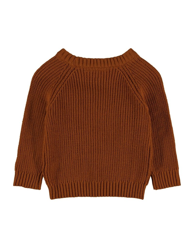 Lil' Atelier Longsleeve Knit Glazed Ginger