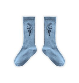 Sproet & Sprout Sport Sock Ice Cream Blue