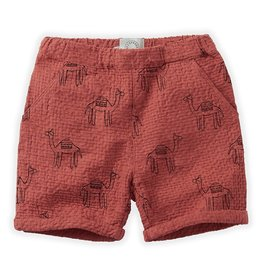 Sproet & Sprout Short Camel print