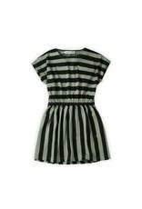 Sproet & Sprout Skater Dress Painted Stripe
