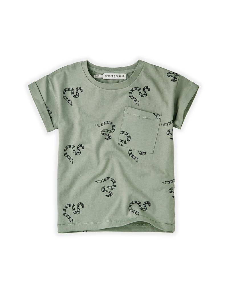Sproet & Sprout T-shirt Print Snake