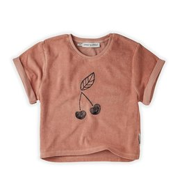 Sproet & Sprout Sweat T-shirt Terry Cherry