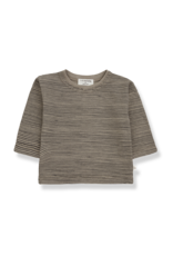 1+ in the family Pep long sleeve t-shirt khaki