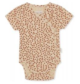 Konges Sløjd Newborn Body Short Sleeve Buttercup Rosa