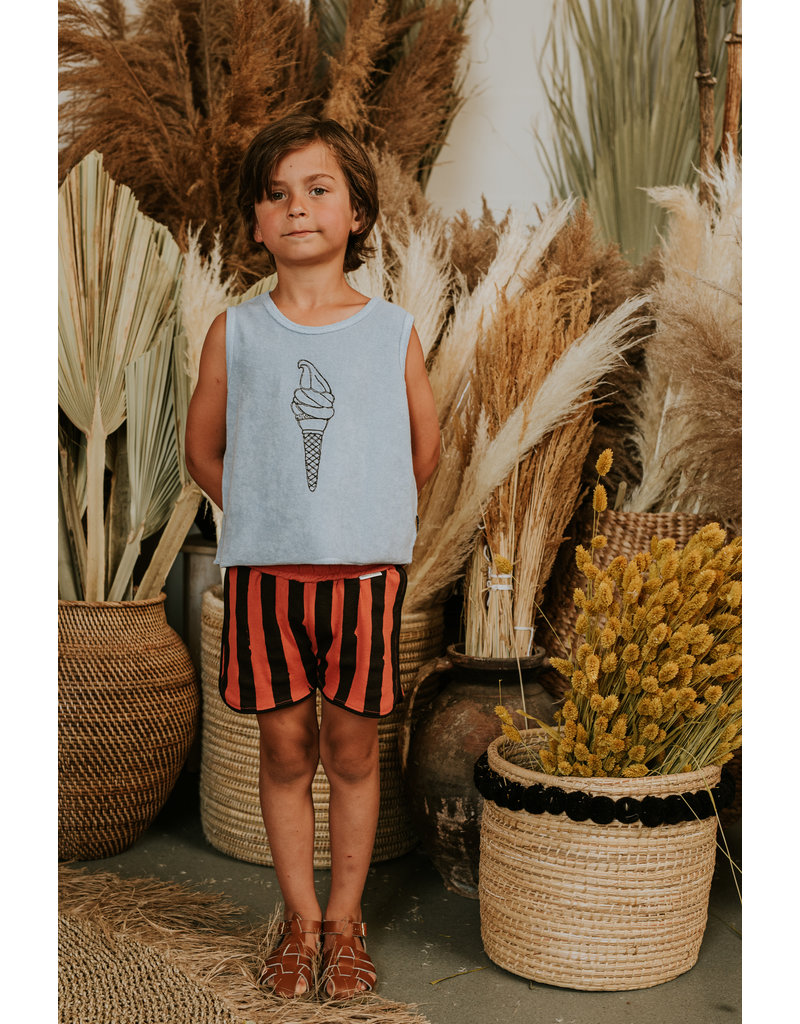 Sproet & Sprout Sport Short Painted Stripe