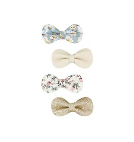 Mimi & Lula Floral gracie bow clips
