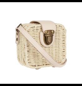 Mimi & Lula Mini wicker basket cross body bag