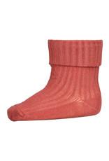 mp Denmark Cotton Rib Baby Socks Marsala 4270