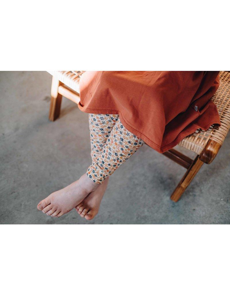 Blossom Kids Legging- Aquarel Flowers