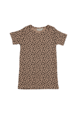 Blossom Kids Short sleeve - Animal Dot - warm sand