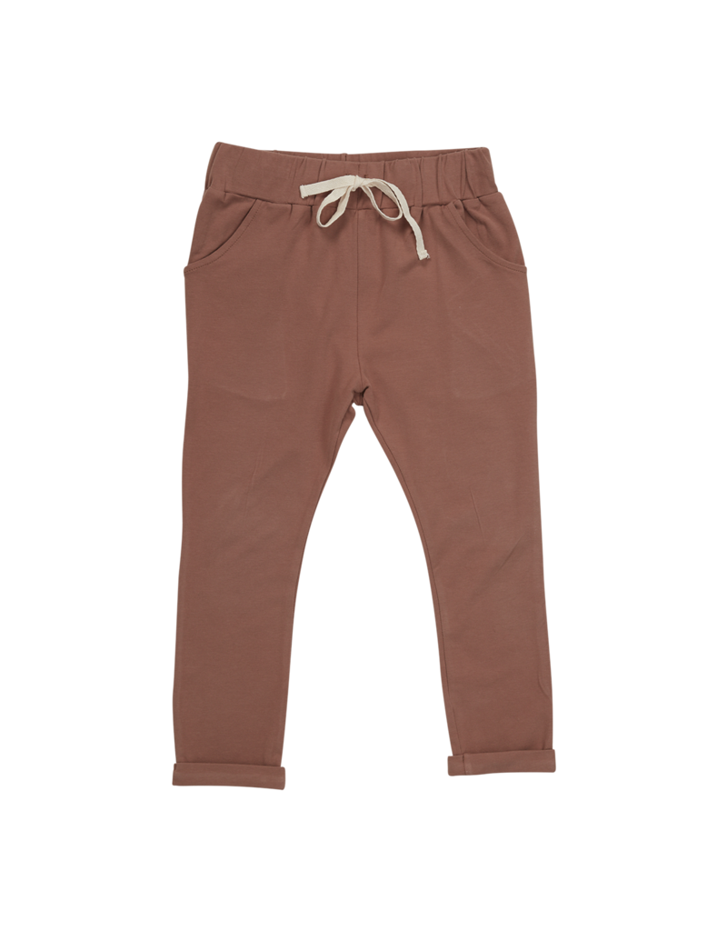 Blossom Kids Strap cord joggers -  Cacao