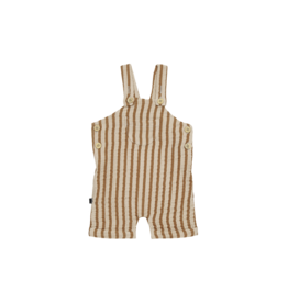 House of Jamie Relaxed Dungaree Apple Cider Stripes