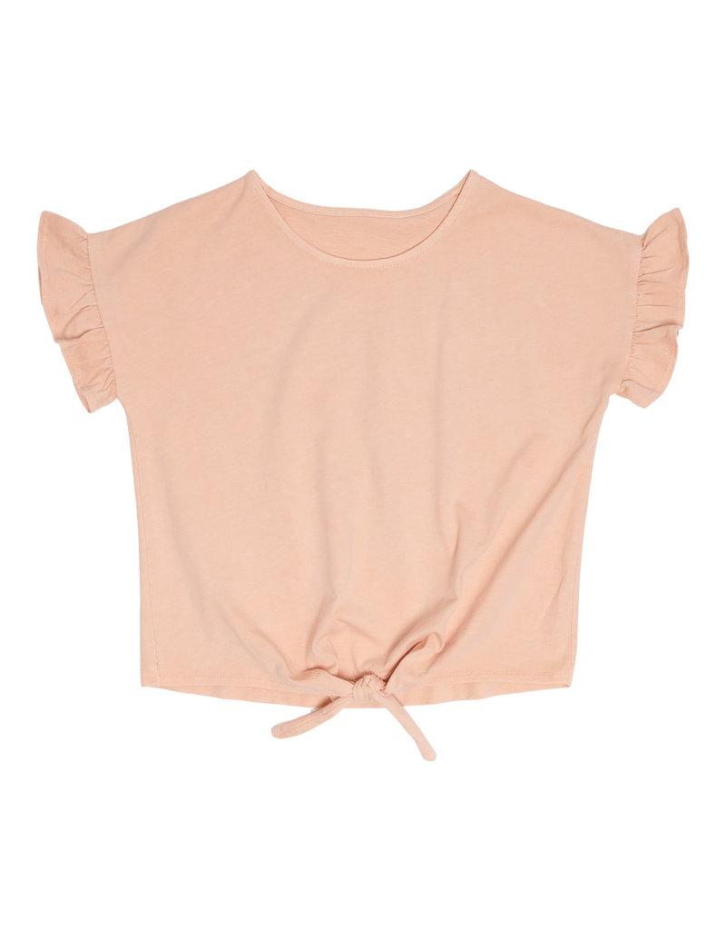 Petit Blush Knot t-shirt Pink Sand