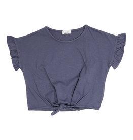 Petit Blush Knot t-shirt Grisaille